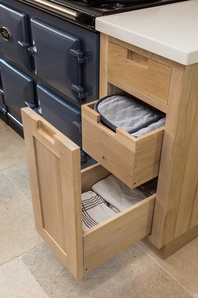 farmhouse kitchen creative storage