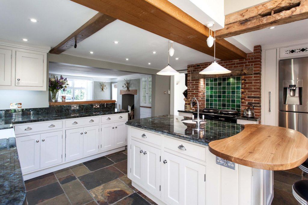 handmade kitchen dining room