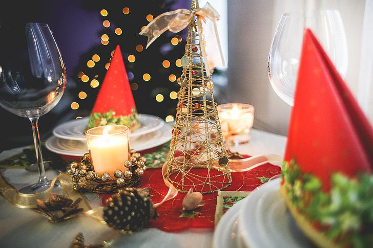 dowers bespoke kitchen at christmas